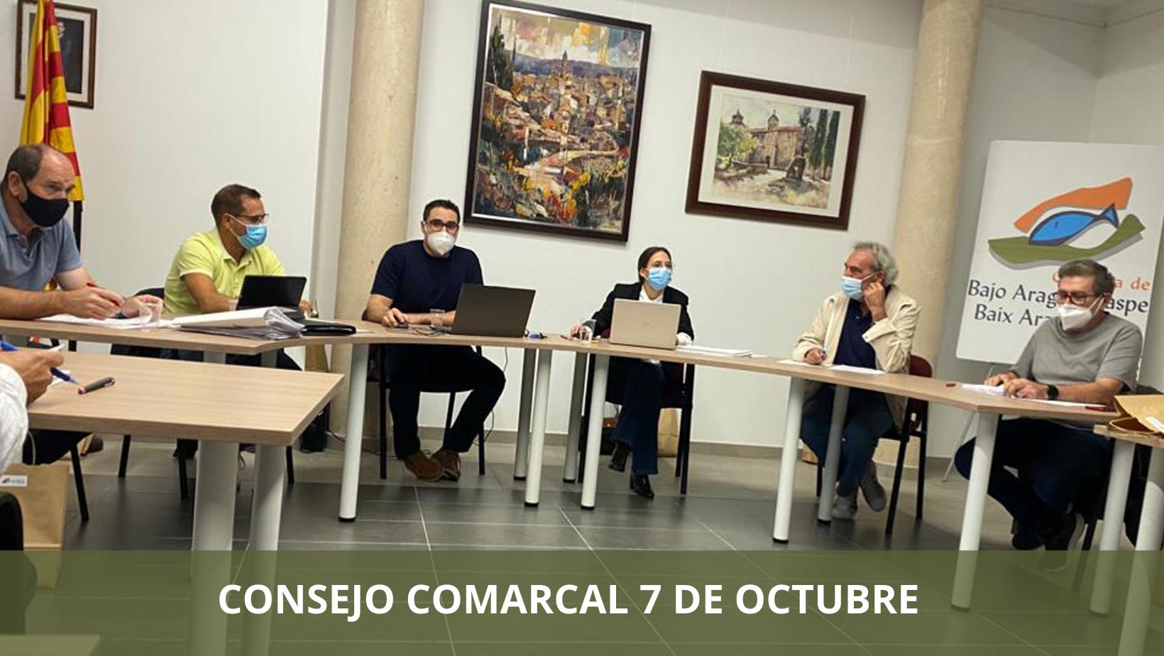 Consejo Comarcal 7 octubre
